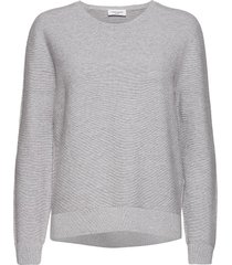 pullover long-sleeve stickad tröja grå gerry weber edition