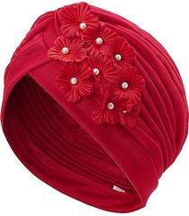 turbante elastico in fibra poliestere