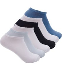 laundry by shelli segal women's low cut ankle socks, 6 pack