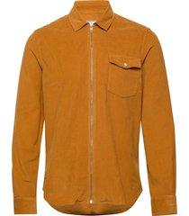 patrol zip shirt överskjorta gul forét