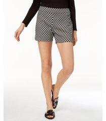 i.n.c. printed jacquard shorts, created for macy's