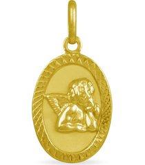 ciondolo in oro giallo vergine maria per unisex