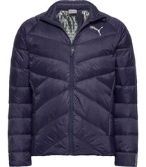 pwrwarm packlite 600 down jacket fodrad jacka blå puma
