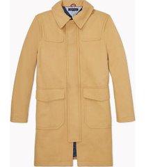 tommy hilfiger men's essential car coat beige beach - xl