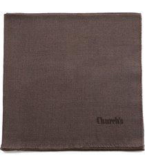 churchs virgin wool twill scarf