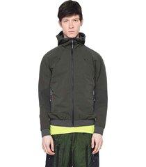 apex jacket dark green