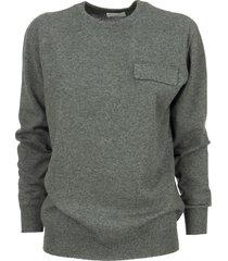 brunello cucinelli cashmere sweater with jewel