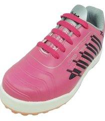botín rosa tridy  chick max