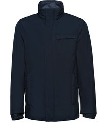 prada technical poplin jacket with removable lining - blue