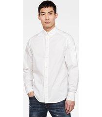 stalt sleeve pocket straight overhemd