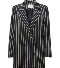 laurent blazer blazer colbert blauw just female