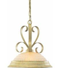volume lighting florentina 1-light hanging pendant