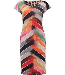 jurk scuba reversible multicolor