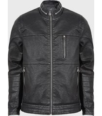 chaqueta ellus negro - calce regular
