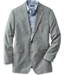 wrinkle-free gingham sport coat / regular, 46