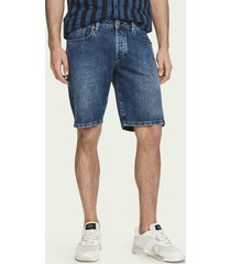 scotch & soda ralston short - blazing sky | slim fit