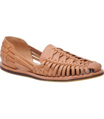 nisolo huarache water resistant sandal, size 11 in almond at nordstrom