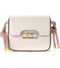 marc jacobs the j link mini bag in ivory leather