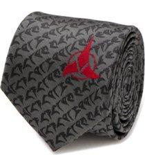 star trek klingon men's tie