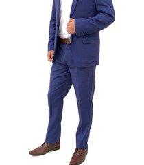 traje azul navy oscar de la renta a9sut06-bl
