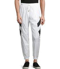 stretch track pants