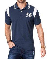 camiseta arnold azul para hombre croydon