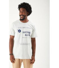 t-shirt zinzane stone rhythm masculina - masculino