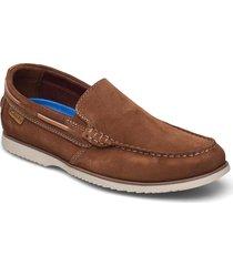 noonan step båtskor skor brun clarks
