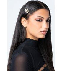 akira leo rhinestone hair clip
