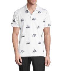 bonobos men's slim-fit performance golf shirt - white - size xl