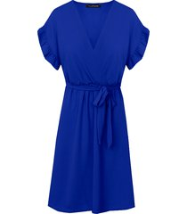 st. tropez jurk kobalt
