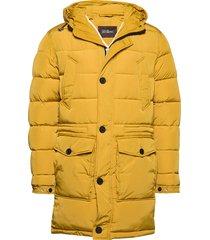 clayton jacket gevoerd jack geel oscar jacobson