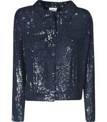 parosh sequin-coated jacket