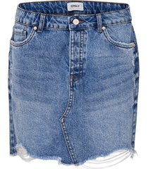 denim rok mini