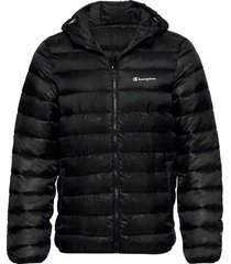 hooded jacket fodrad jacka svart champion