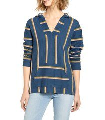 women's faherty seabrook french terry hooded poncho