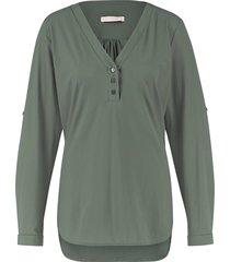 blouse evi groen