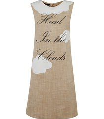 moschino head in the clouds dress