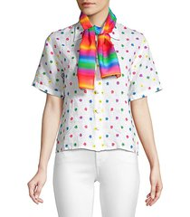 dana rainbow scarf