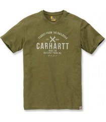 carhartt t-shirt men emea outlast graphic s/s cargo green-xl