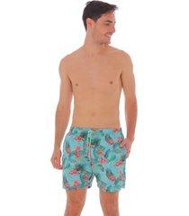 pantaloneta estampada para hombre 100070-00