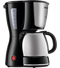 cafeteira elétrica mondial dolce arome inox 15 xícaras c-34 ji 15x preta