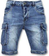 enos korte spijkerbroek shorts spijker