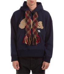 palm angels bear hoodie