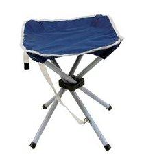 banqueta camping ntk stool dobrável 80 kg