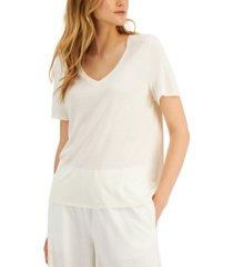 alfani petite semi-sheer t-shirt, created for macy's