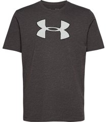 ua big logo ss t-shirts short-sleeved svart under armour