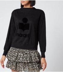 isabel marant étoile women's kilsen sweatshirt - black - l