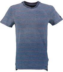 garcia stevig zacht vintage indigo slim fit shirt valt kleiner