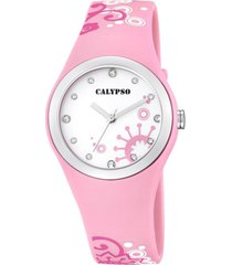 reloj digital crush rosa calypso